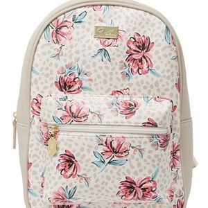 Betsey Johnson floral print backpack